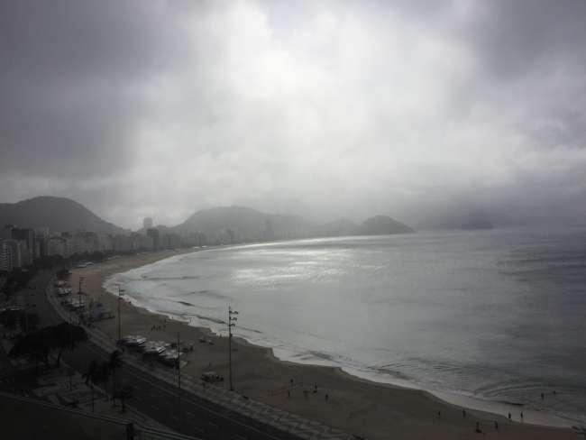 Schlechtes Wetter kommt