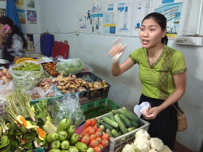 Kochschule: Einkaufen auf dem Markt