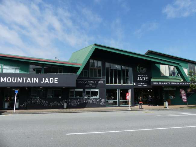Jade-Shop in Hokitika
