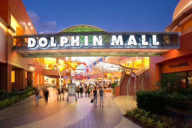 Shopping in der Dolphin Mall