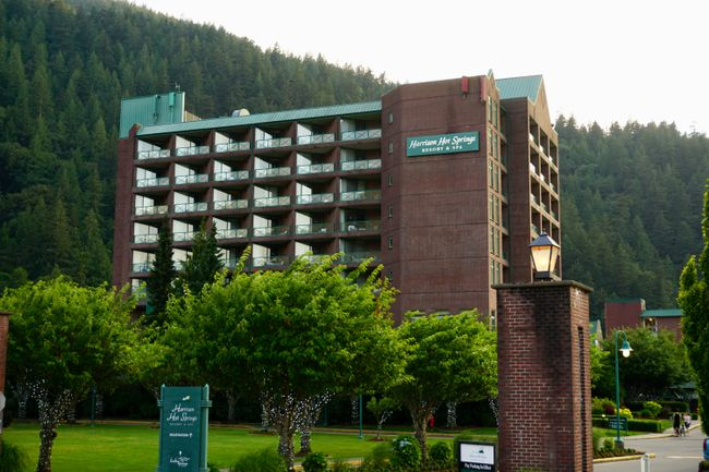 Harrison Hot Springs resprt and Spa