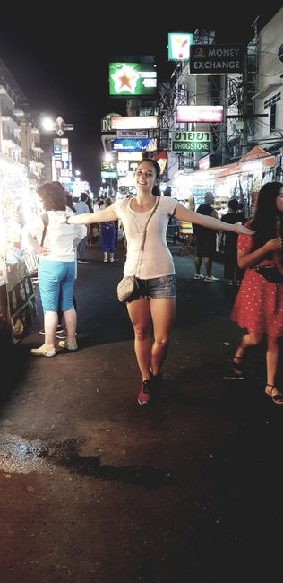 Welcome to Khao San Road🍹🍺🥂😁