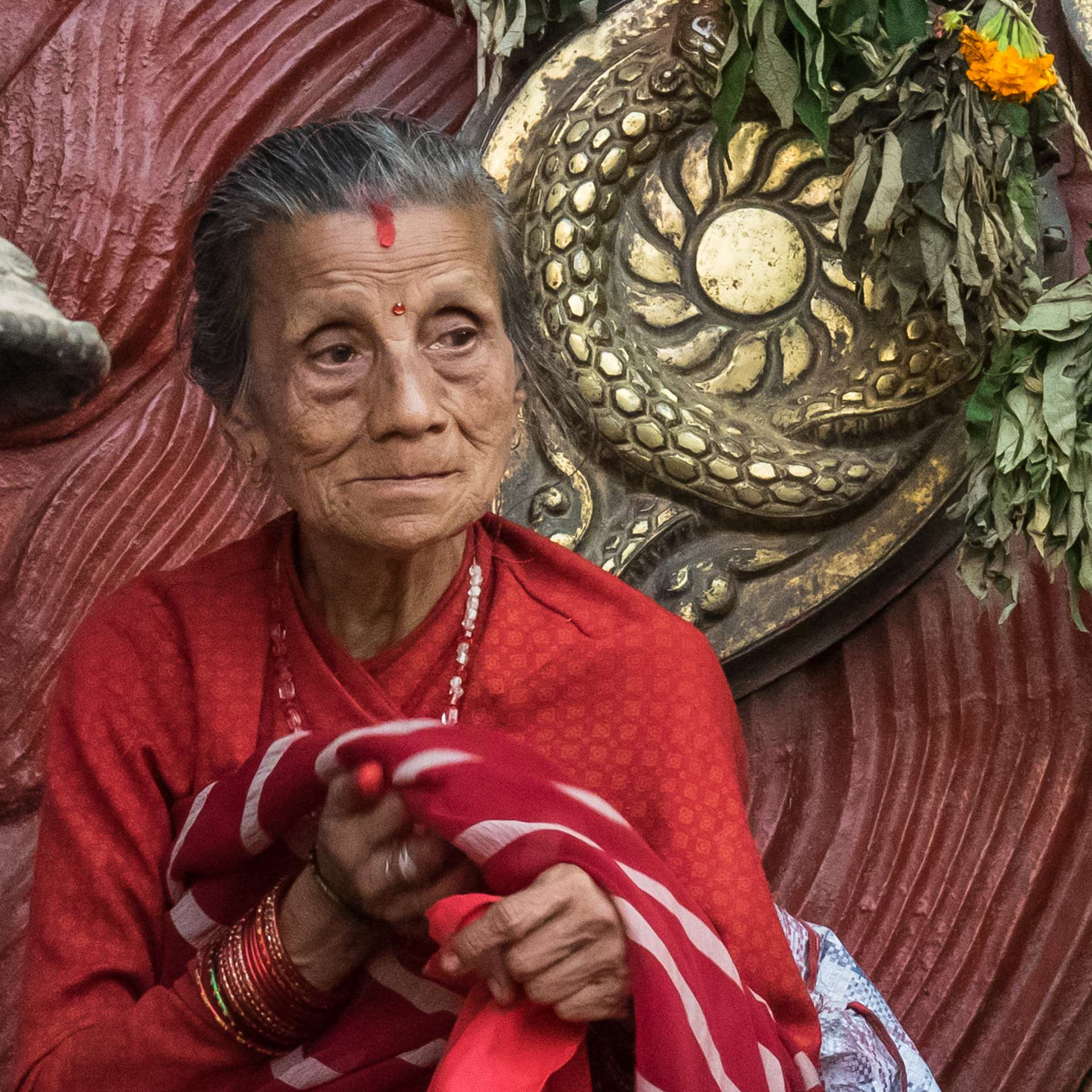 warten auf die Kumari