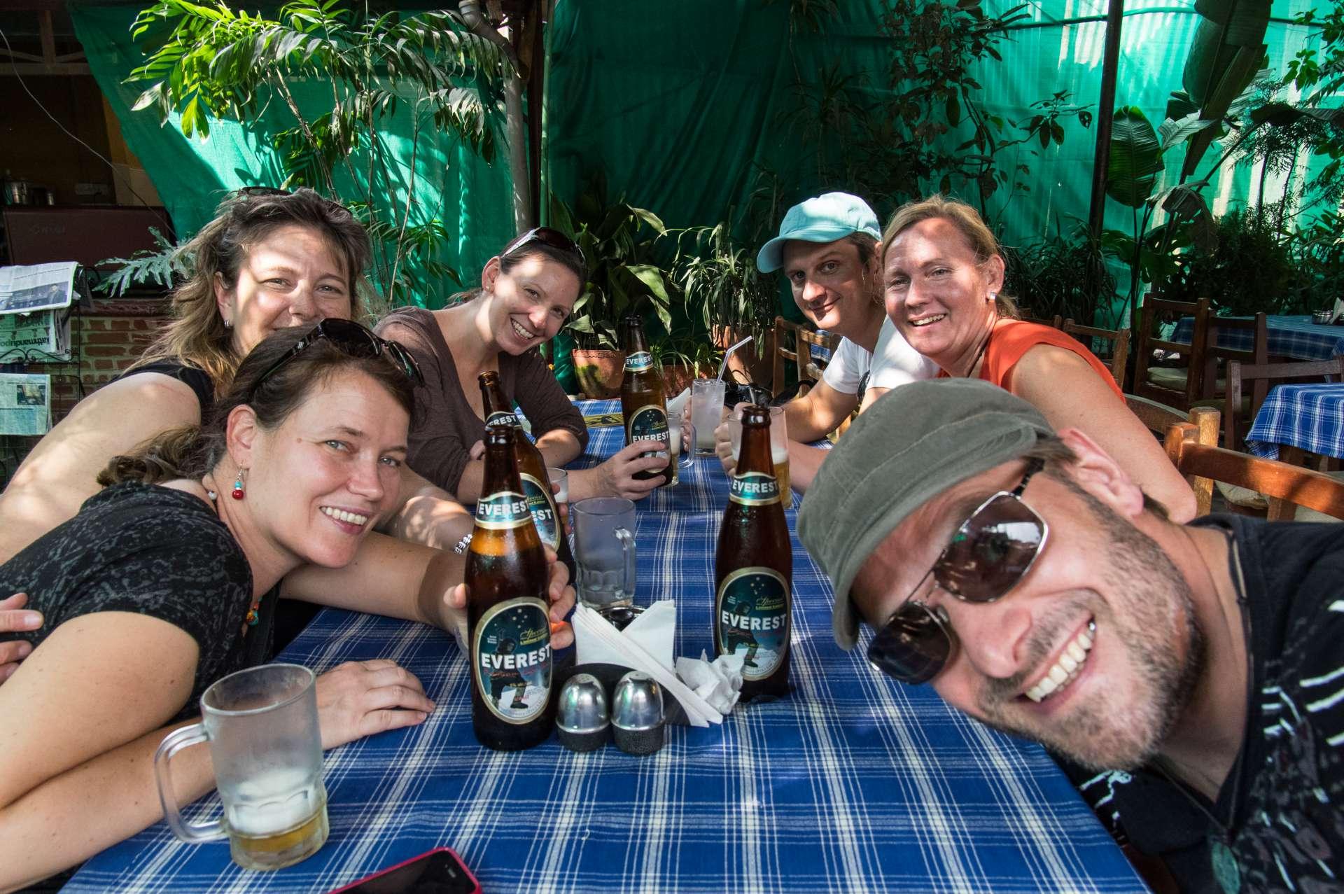das erste Everest Bier