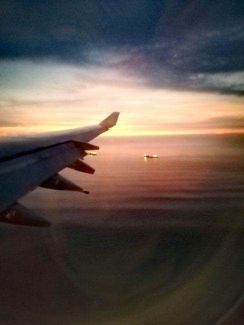 Anflug auf Lima