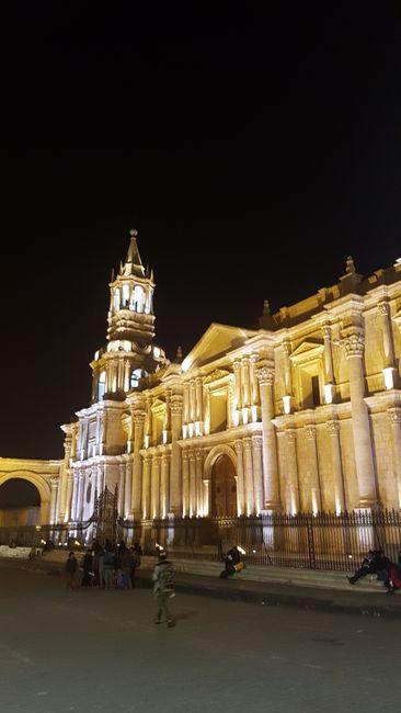 Arequipa bi Nacht