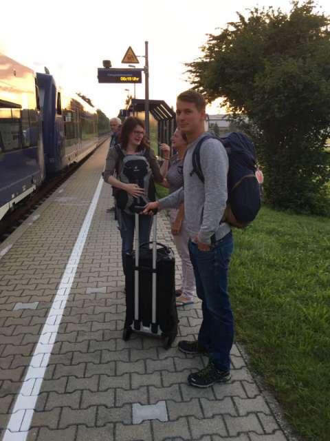 Abschied in Oberzell