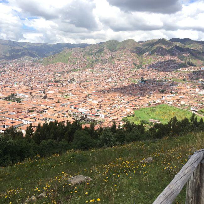 Blick über Cusco