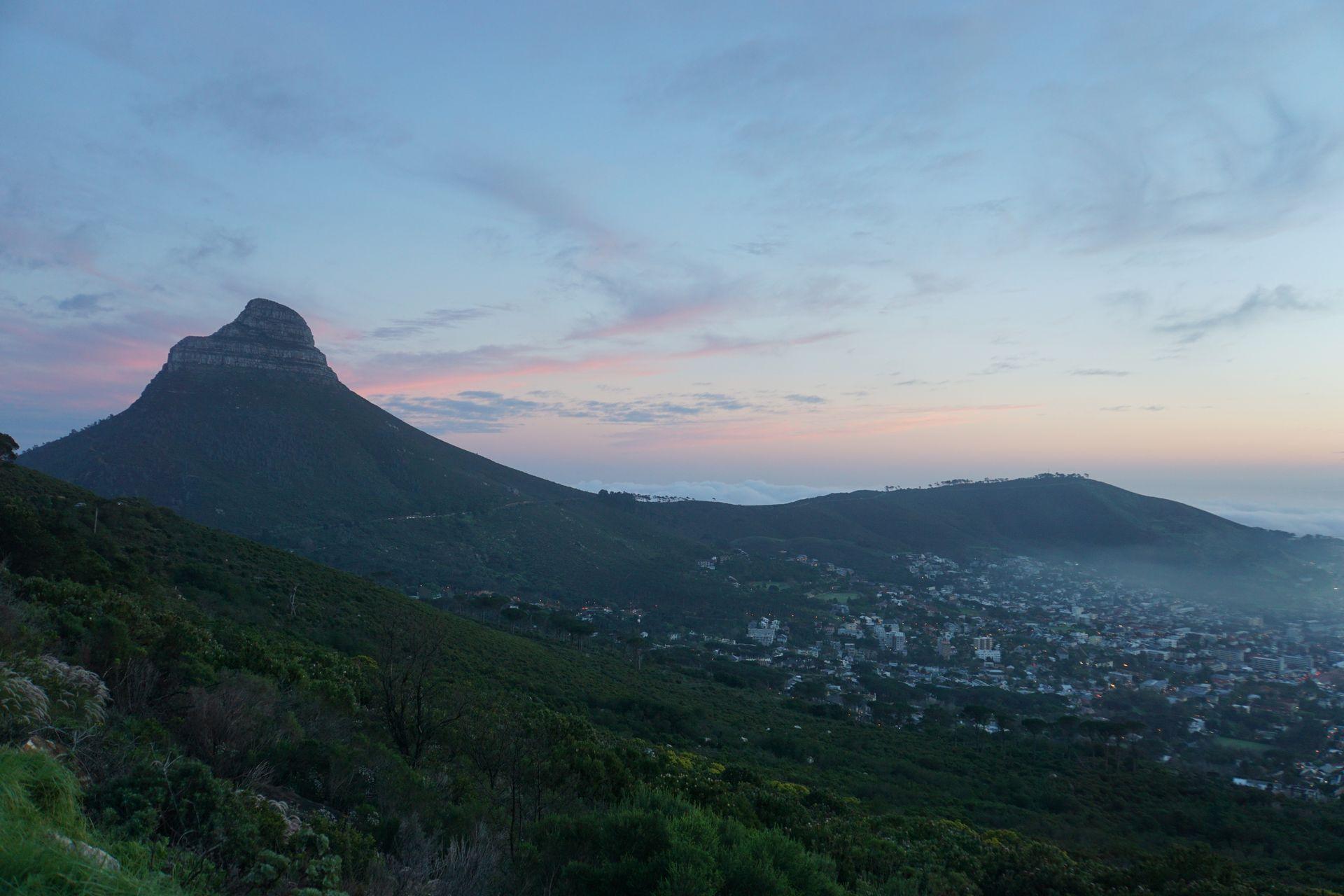 Den Platteklip Gorge Trail Hinauf Zum Tafelberg Vakantio Plasttekpp