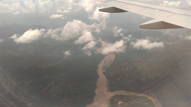 Mekong from Airplane
