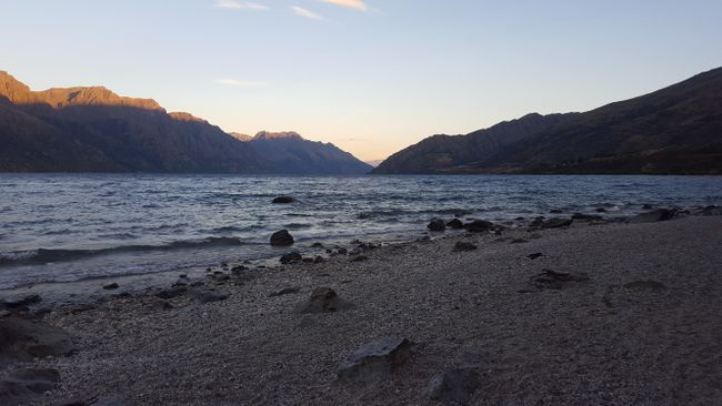 Devils Staircase at Lake Wakatipu