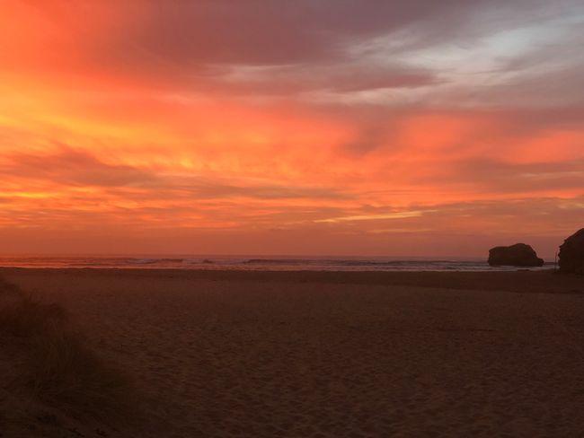 Torquay bei Sonnenaufgang