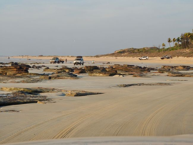 yes cable beach ...me driving and not getting stuck in the sands ...