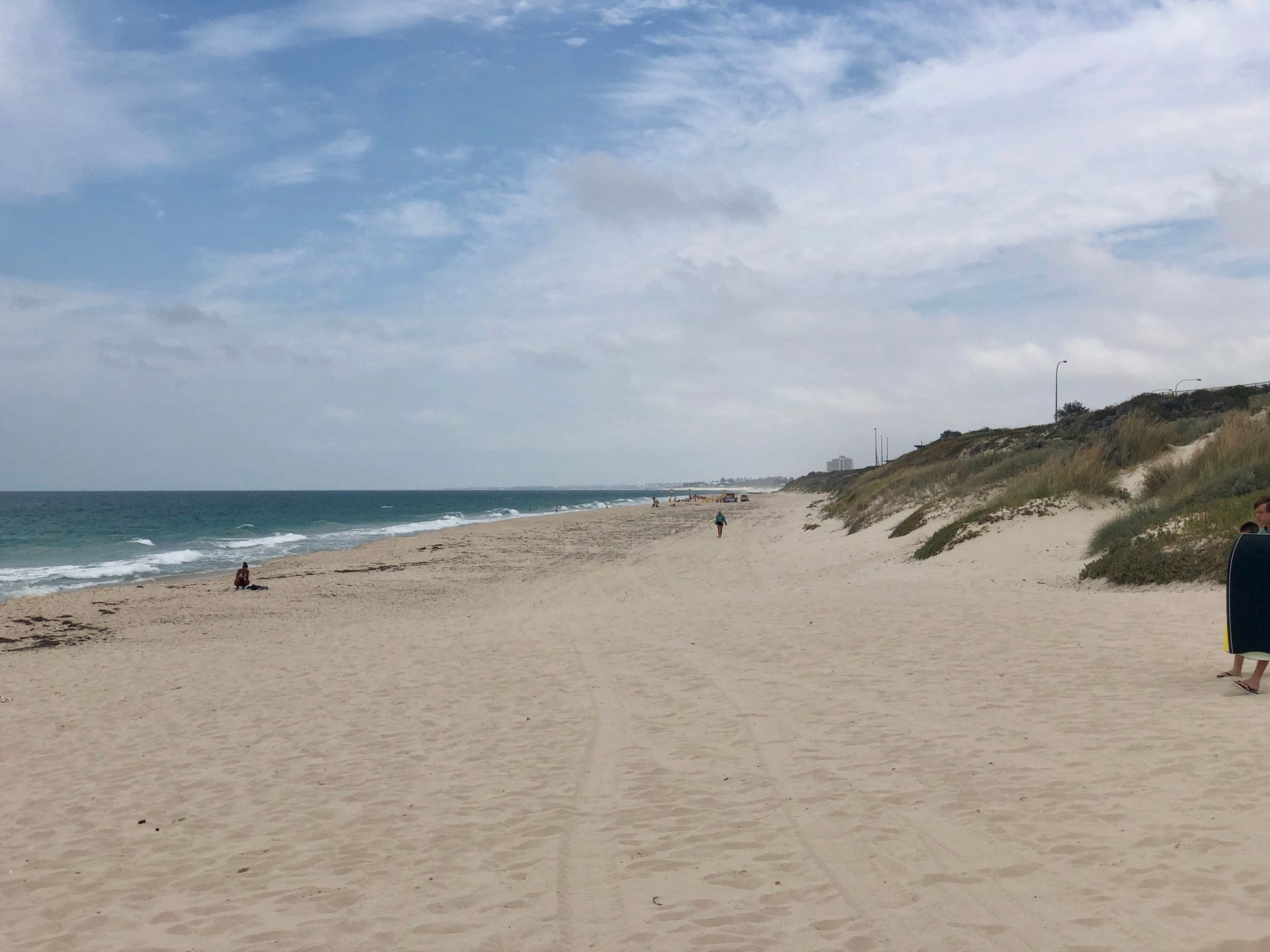 Downwind from Floreat Beach to Trigg Beach
