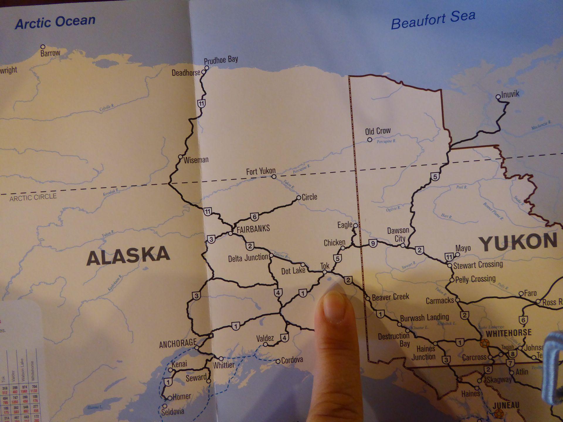 Ostwärts nach North Pole zum Weihnachtsmann & zu Fast Eddy\'s ...