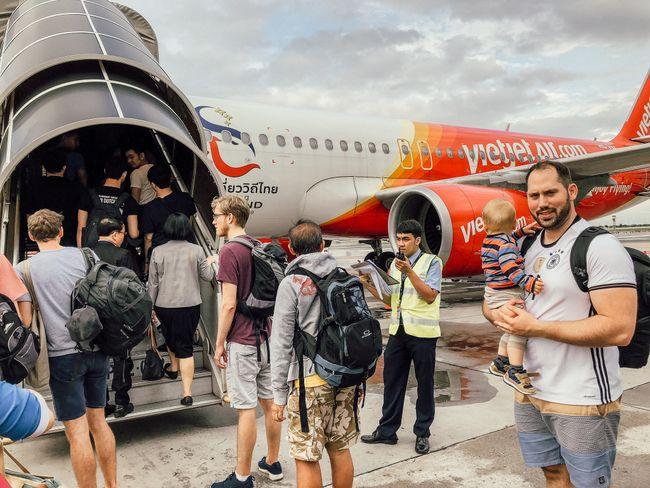 Flug nach Chiang Mai