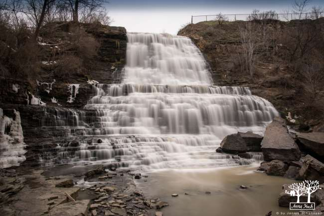 no waterfalls without longtime exposure